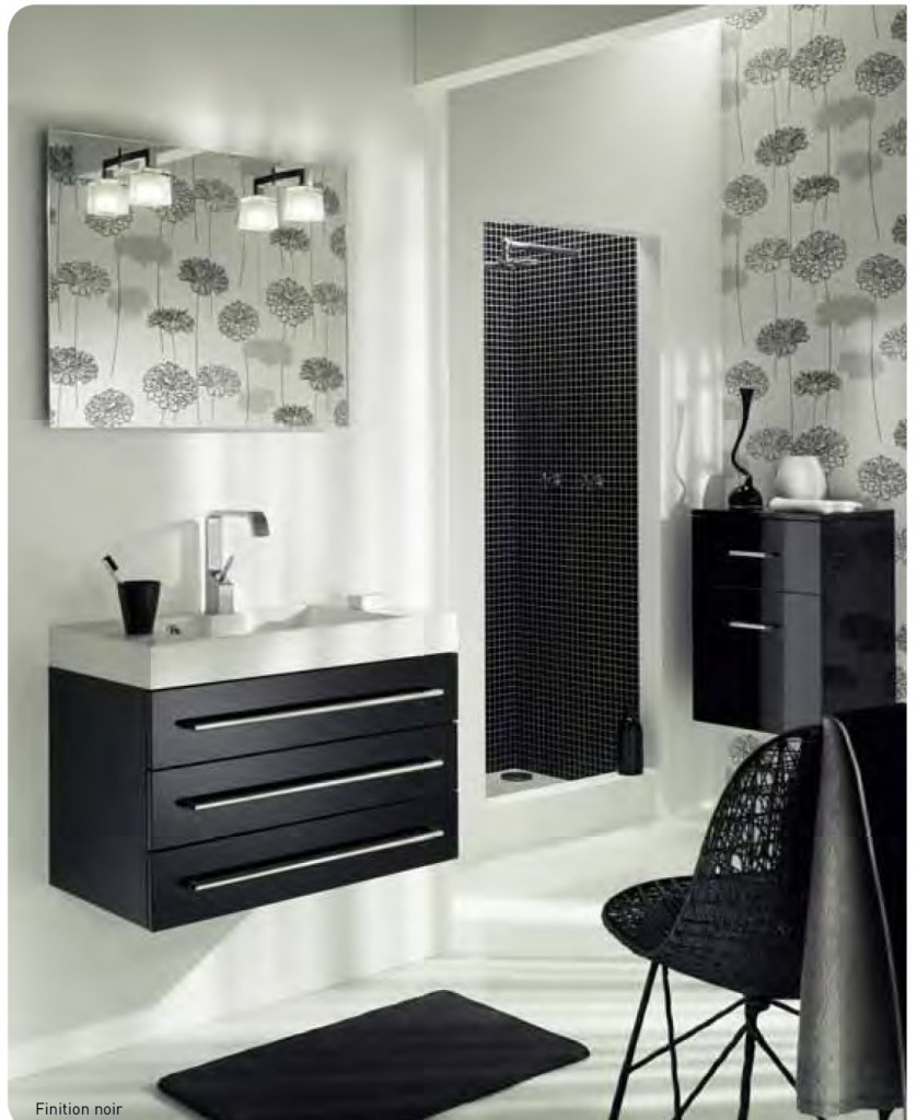 inspiration ambiance salle de bain new york. Black Bedroom Furniture Sets. Home Design Ideas