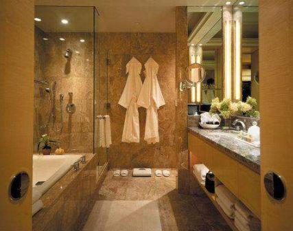 Ambiance salle de bain orientale for Salle de bain style hammam