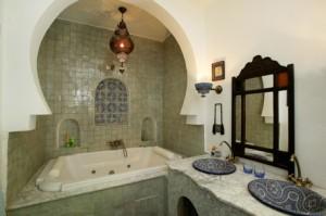 modèle ambiance salle de bain orientale