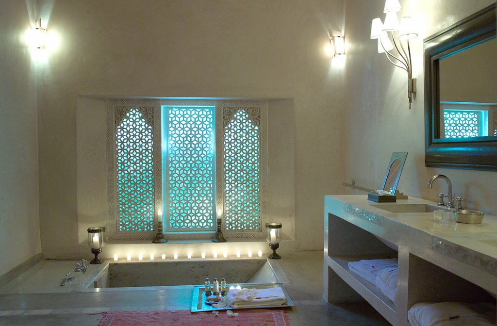 style ambiance salle de bain orientale