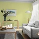 ambiance salon vert