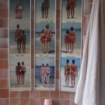 déco wc - toilettes ethnique