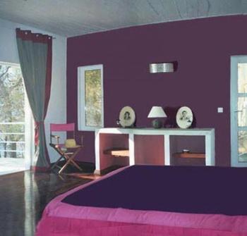 Guide d coration chambre fille prune - Deco chambre prune ...