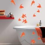 décoration salle de bain stickers