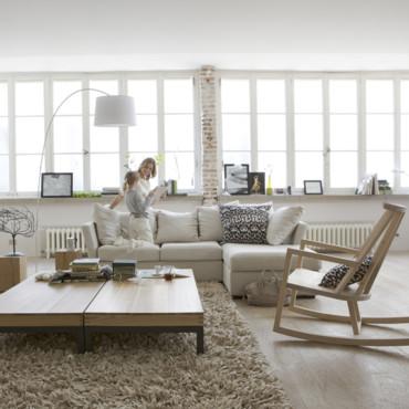 Jolie d coration salon nature for Jolie decoration maison