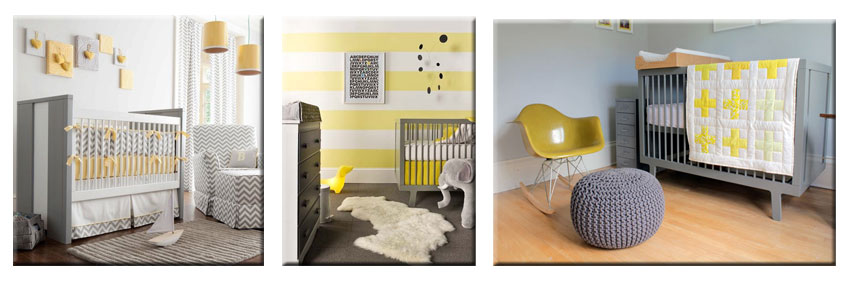 Id e d co chambre b b jaune for Decoration maison jaune