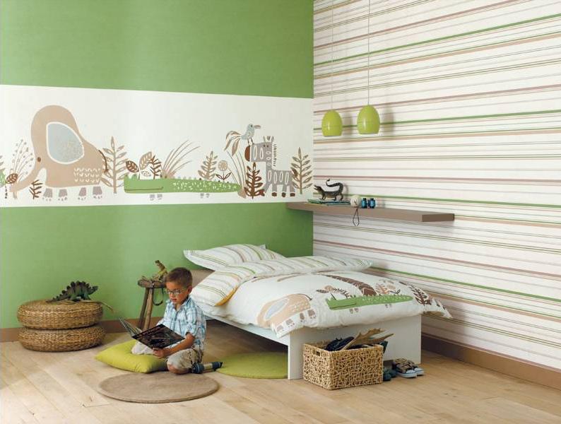 Nouvelle id e d co chambre b b vert for Nouvelle deco maison
