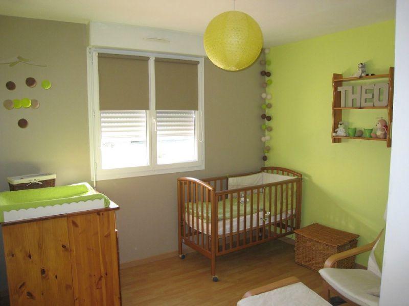 idée déco chambre bébé vert