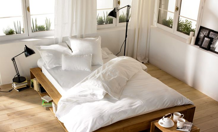 Conseil id e d co chambre blanc for Idee deco photo