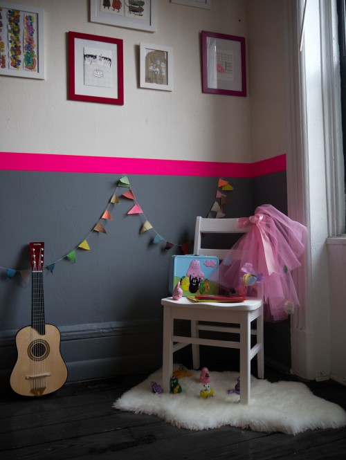 Id e d co chambre fille rose for Idee deco chambre fille
