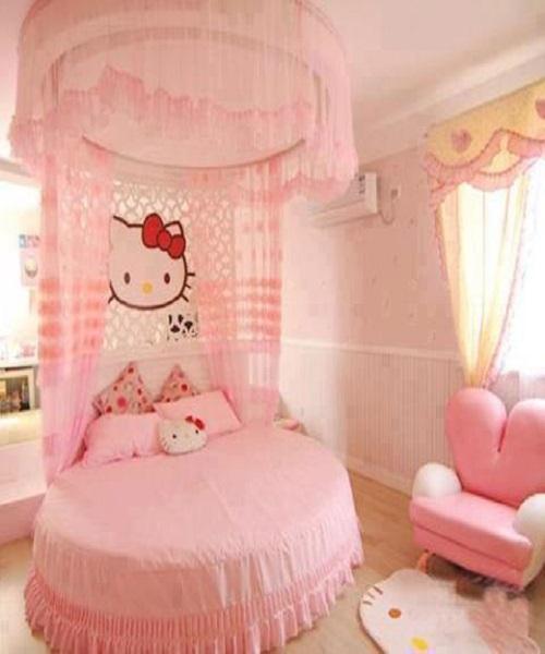 nouvelle idée déco chambre fille rose
