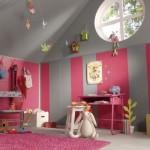 idée déco chambre fille rose