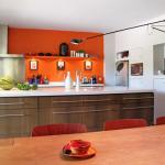 idée déco cuisine orange