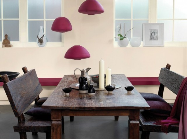 Conseil id e d co salle manger beige for Idee deco salle a manger