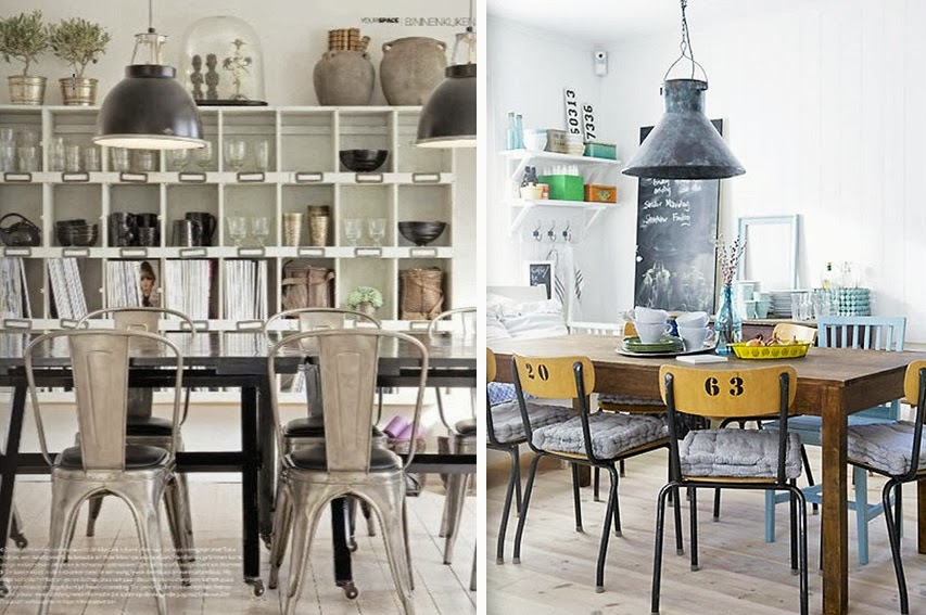 Inspiration id e d co salle manger london - Idee deco table salle a manger ...