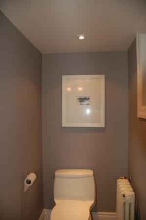 idée déco wc - toilettes beige