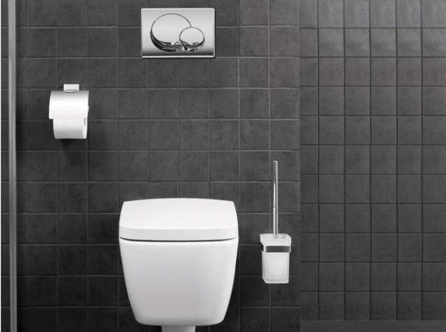 id e d co wc toilettes gris et blanc. Black Bedroom Furniture Sets. Home Design Ideas